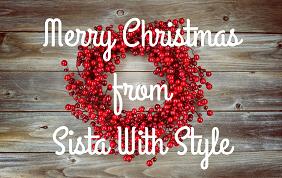 Merry Christmas Sistas!